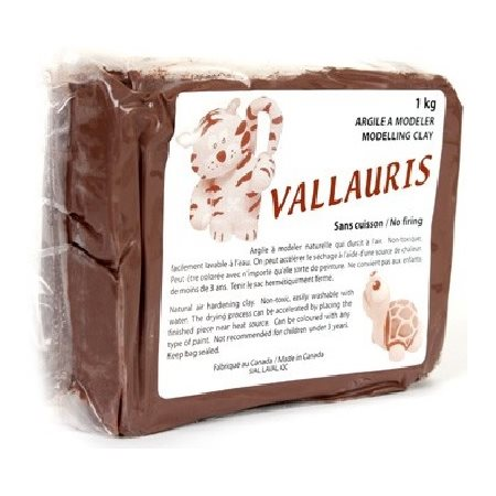 Argile Vallauris TERRA COTTA séchant à l'air 1Kg